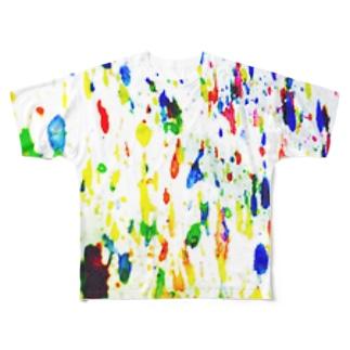 意識。 Full graphic T-shirts