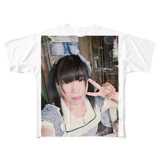 まほちt Full graphic T-shirts