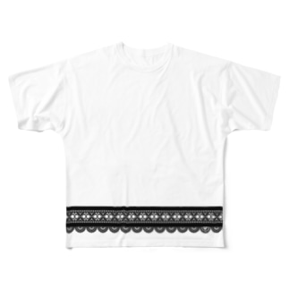 LACE-TH02 Full graphic T-shirts