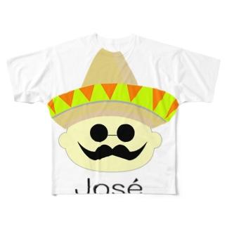 ホセ Full graphic T-shirts