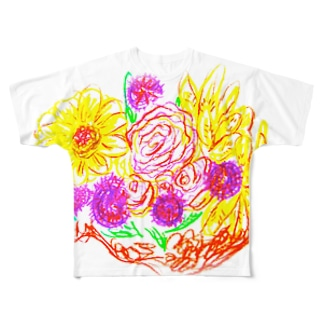 Bouquet Of Full-Hearted  Full graphic T-shirts
