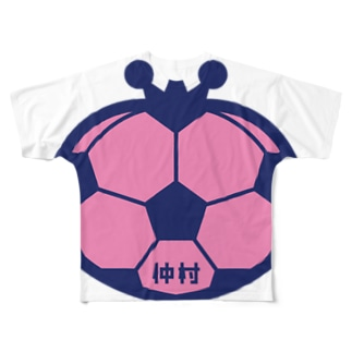 パ紋No.2754 仲村 Full graphic T-shirts