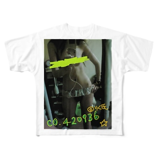 りく氏の狂信者用 Full graphic T-shirts
