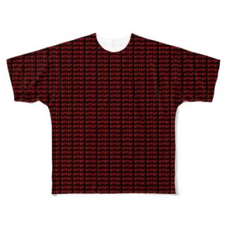致命的な問題が発生しています。 Full graphic T-shirts