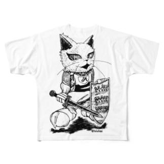 アーサー王 (劇団Camelot) Full graphic T-shirts