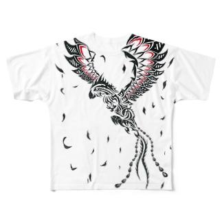 Phoenix Red Full Graphic T-Shirt