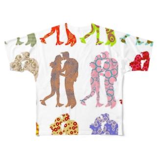 キス15 Full graphic T-shirts