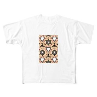 不思議模様 Full graphic T-shirts