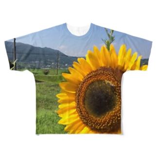 向日葵 Full graphic T-shirts