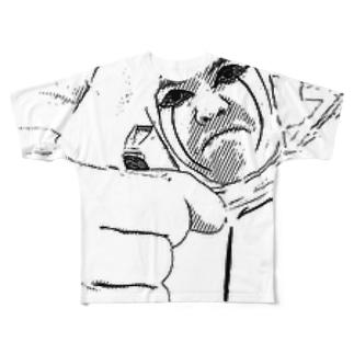 フリーザ山本 キェイグッズ Full graphic T-shirts