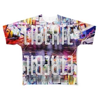 LIBERTE NY Full graphic T-shirts