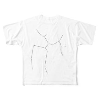 いて座 Full graphic T-shirts