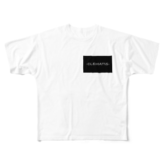 clematis Full graphic T-shirts