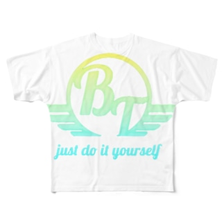 JUST DO IT YOURSELF Full graphic T-shirts