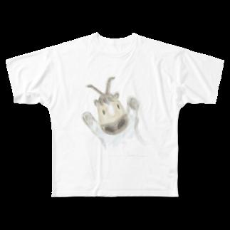 クロゆめマーケットのゆるクロロ Full graphic T-shirts