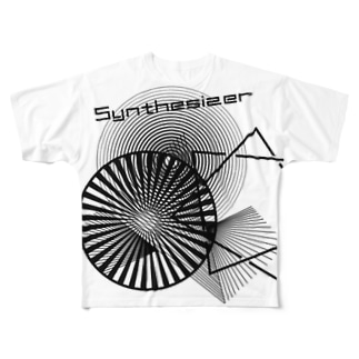 synthesiser Full graphic T-shirts