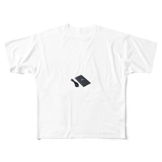 超高性能暗視ビデオカメラ Full graphic T-shirts