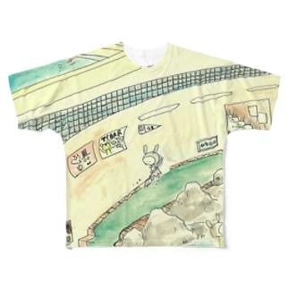おそうじさん Full graphic T-shirts