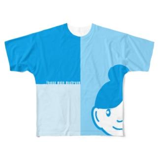 ショップ店員 Full graphic T-shirts