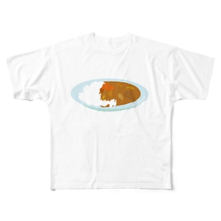 華麗なるカレー Full graphic T-shirts