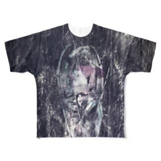 LIBERTE LUCIFER Full graphic T-shirts