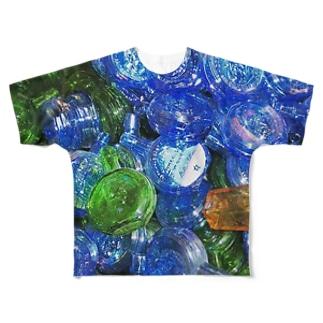 ニューヨーク 雑貨屋さん Full graphic T-shirts
