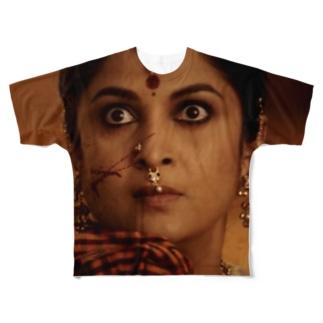 国母様 Full graphic T-shirts