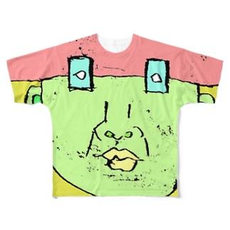ポケモントレーナー Full graphic T-shirts