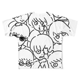 ぐへ Full graphic T-shirts