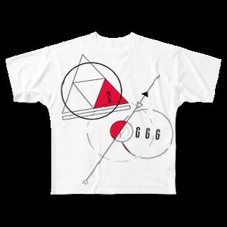 佐野いなり.の惑星 Full graphic T-shirts