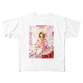 アネリア Full graphic T-shirts