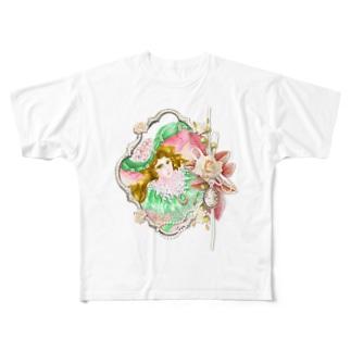マディアン Full graphic T-shirts