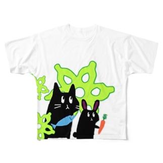 むしゅ1 Full graphic T-shirts