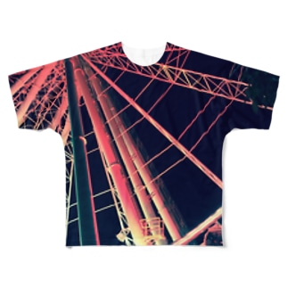 A Red Dream Full graphic T-shirts