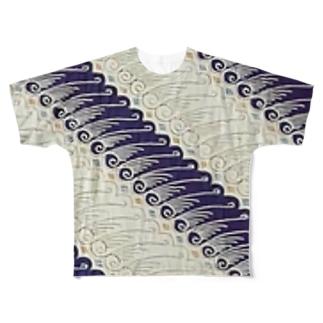 Batik Full graphic T-shirts