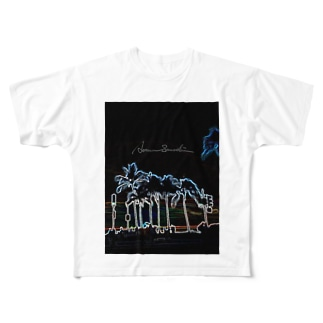 Coconut Whisper Full graphic T-shirts