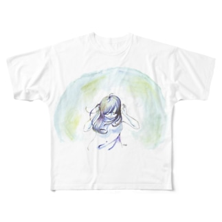 世界の音が Full graphic T-shirts