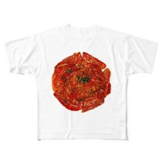 最高級の肉はA5ランク Full graphic T-shirts
