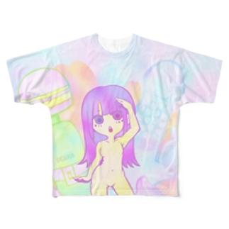 トイ ガール Full graphic T-shirts