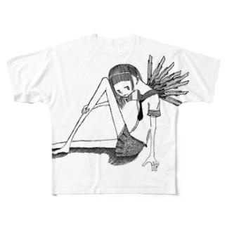わたしの鋭利な翼 Full graphic T-shirts