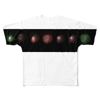 HANABI Full graphic T-shirts