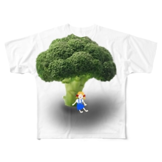 broccoli&Margaret Full graphic T-shirts