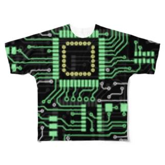 CircuitBoard Full graphic T-shirts