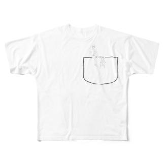 青春の1ページ Full graphic T-shirts