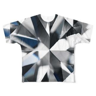 超高級!ダイヤモンドTシャツ Full graphic T-shirts