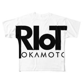 アーティストロゴグッズ Full graphic T-shirts