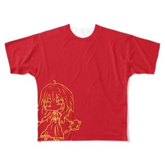 クシナダ姫 Full graphic T-shirts