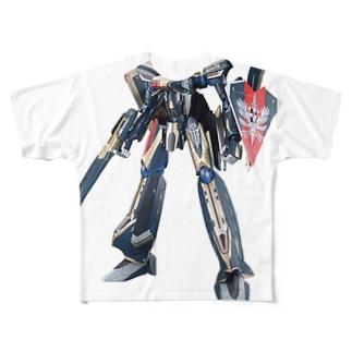 マクロスΔ キース・エアロ・ウィンダミア機  Full graphic T-shirts
