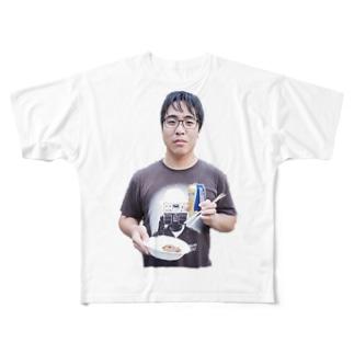バーベキュー会場の人 Full graphic T-shirts