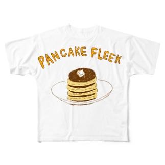 パンケーキフリーク Full graphic T-shirts